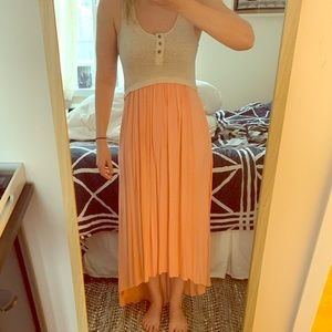 Anthropologie high low dress